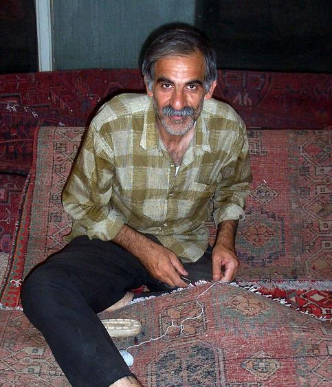 Tabriz Rug Being Made