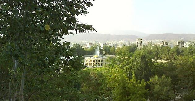 City of Tabriz Iran