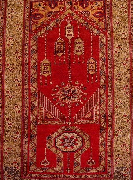 The Dhurrie Rug From Older Tradition Of Making In India