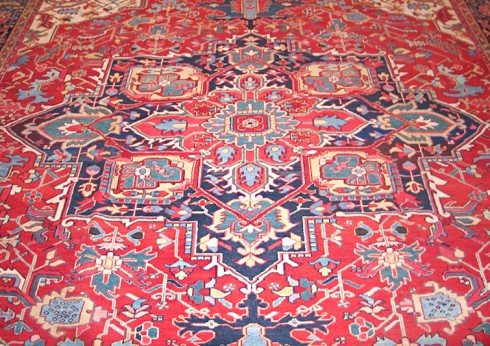 Heriz Room Sized Rug