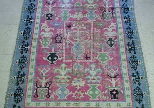 Spanish Throw Rug