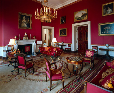 "The White House's ""Red Room"""