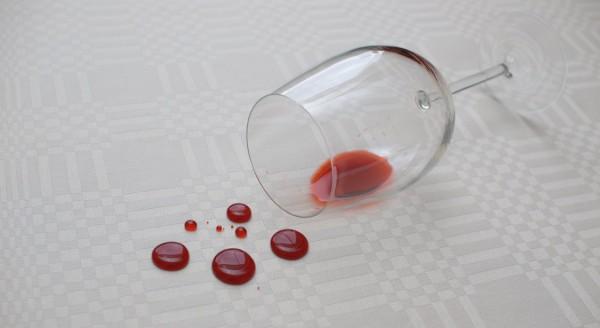spill on rug