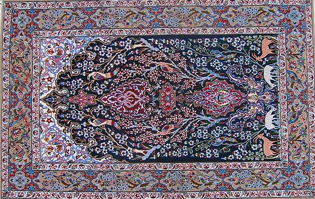 Exceptional Purple Persian Rug