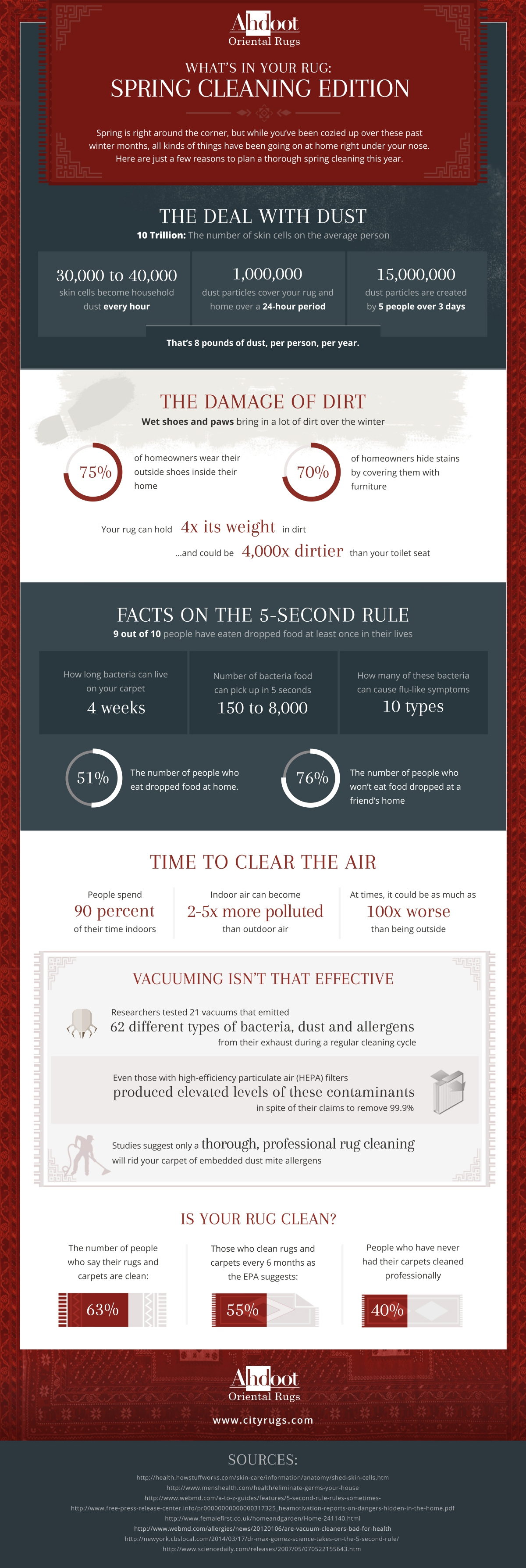 Infographic: What's in Your Rug? Spring Cleaning Edition