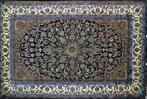 Ahdoot Oriental Rugs Blue Carpet