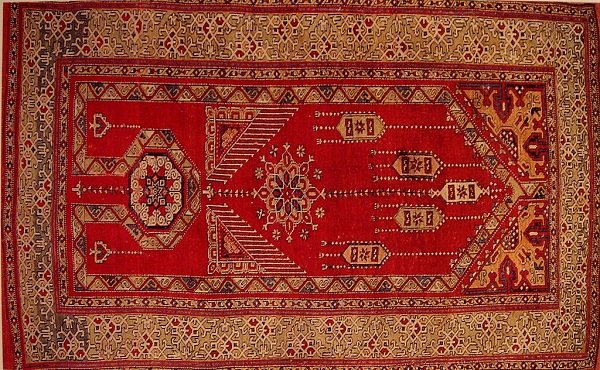 Ahdoot Oriental Rugs Red Carpet