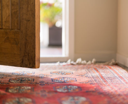 Oriental Rugs Front Door Foot Traffic